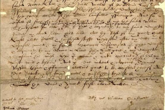 Shakespeare's will