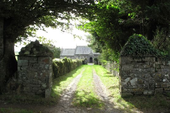 The church at Llanfair Nant Y Gof, Pembrokeshire